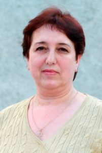 "Larisa Vatzueva. Coordinator of the association ""Jewish Agency"""