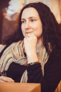 Брыкина Алона Владимировна - координатор еврейского молодежного клуба.