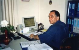 Лев Хаймович Левинсон - исполнительный директор общественной организации Хесед-Нехама